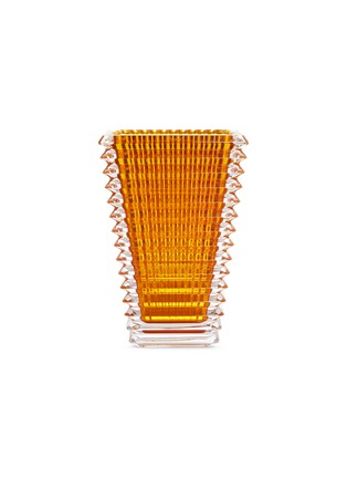 Main View - Click To Enlarge - BACCARAT - Eye small rectangular vase – Amber
