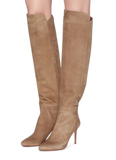 Aquazzura 'Gainsbourg' suede knee high boots