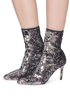 Aquazzura 'Costes' sequin ankle boots
