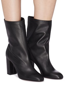 Aquazzura 'Boogie' leather mid calf boots