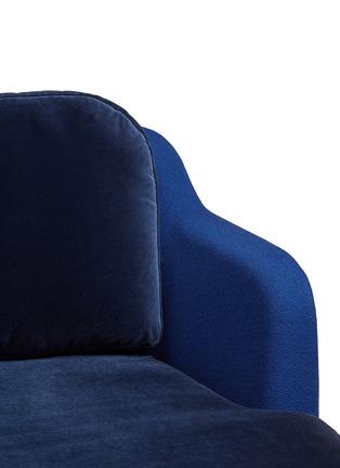 Detail View - Click To Enlarge - Republic of Fritz Hansen - Lune™ sofa – Dark Blue