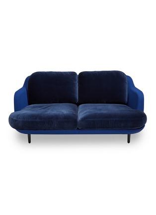 Main View - Click To Enlarge - Republic of Fritz Hansen - Lune™ sofa – Dark Blue