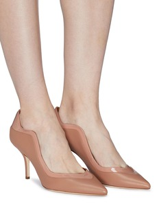 Malone Souliers 'Penelope' patent panel leather pumps