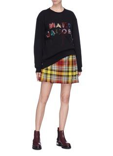 Marc Jacobs Logo embellished oversized sweatshirt