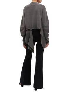 PHVLO Detachable back panel mock neck sweater