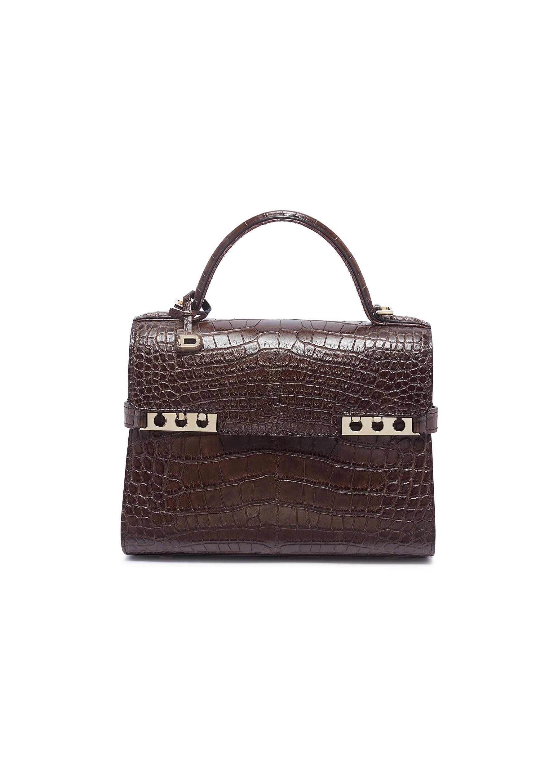 09a3d3b7f DELVAUX   'Tempête Mini' alligator leather satchel   Women   Lane ...