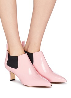 Paul Andrew 'Ang' patent leather booties