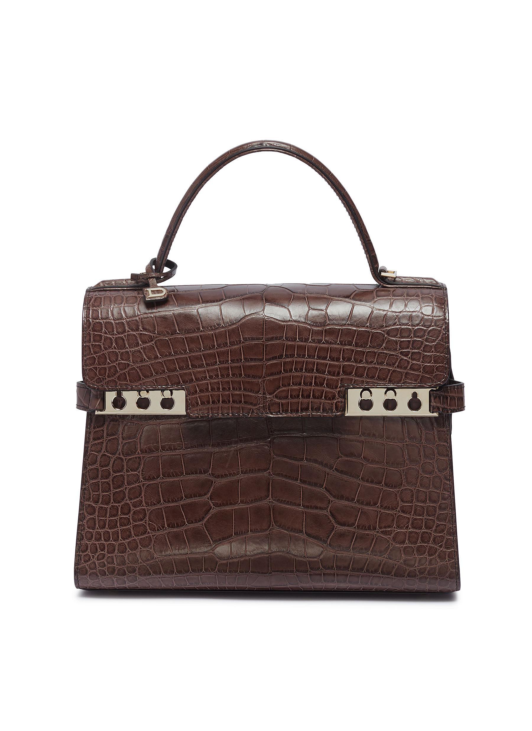111d76297 DELVAUX   'Tempête MM' alligator leather satchel   Women   Lane Crawford