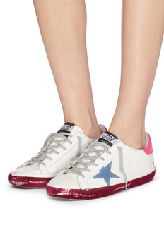 Golden Goose 'Superstar' colourblock leather sneakers