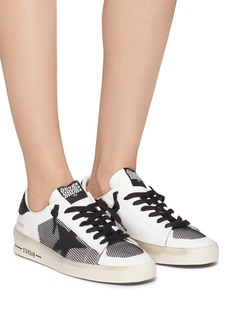 Golden Goose 'Stardan' mesh panel leather sneakers