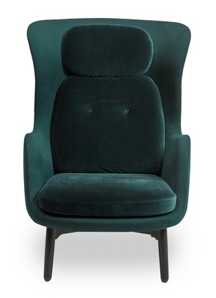 Main View - Click To Enlarge - Republic of Fritz Hansen - Ro™ easy chair – Dato Green