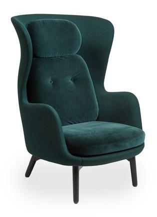 - Republic of Fritz Hansen - Ro™ easy chair – Dato Green