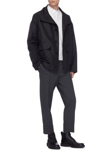 Jil Sander Flap pocket boxy coach jacket