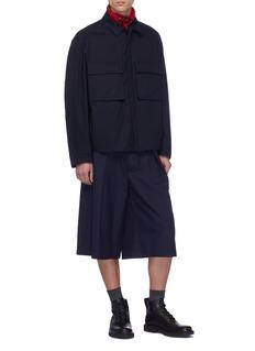 Jil Sander Padded twill shirt jacket