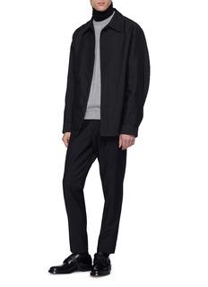 Jil Sander Boxy twill shirt jacket