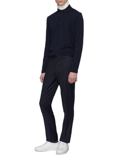 Jil Sander Jersey long sleeve polo shirt