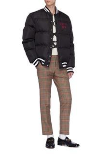 Gucci x Major League Baseball 'Pittsburgh Pirates™' logo appliqué down puffer jacket