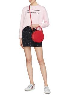 Chinti And Parker x Hello Kitty® graphic print slogan embroidered sweatshirt