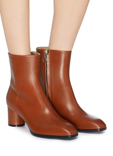 aeyde 'Emily' cylindrical heel leather ankle boots