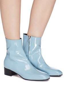 aeyde 'Naomi' patent leather ankle boots