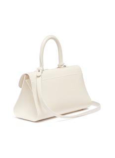 Delvaux 'Brillant East West Mini' ball buckle satchel