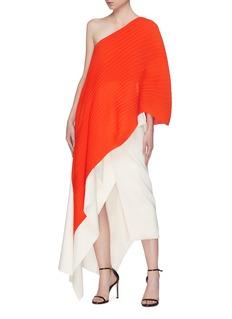Solace London 'Sierra' asymmetric drape one-shoulder top