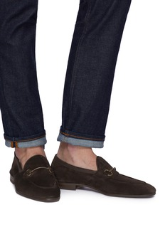 Henderson Horsebeit suede loafers