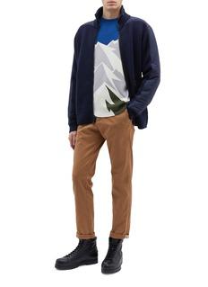 Aztech Mountain 'Ashcroft' mountain print wool sweater