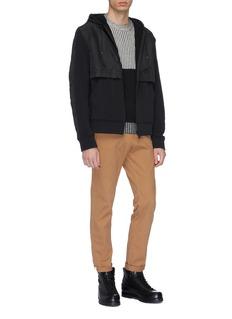 Aztech Mountain 'Woody' contrast panel zip hoodie