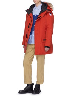 Canada Goose 'Langford' coyote fur hooded down parka