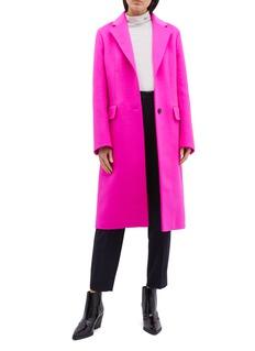 CALVIN KLEIN 205W39NYC Virgin wool blend melton coat