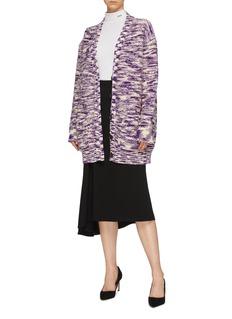 CALVIN KLEIN 205W39NYC Marled wool knit cardigan