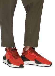 Y-3 'Kaiwa' neoprene counter suede sneakers