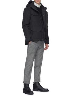 Canada Goose 'Galloway' Merino wool rib knit sweater