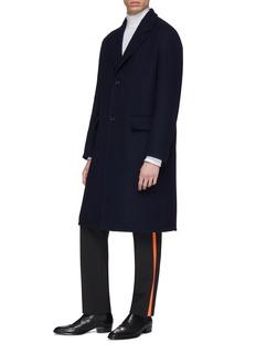 CALVIN KLEIN 205W39NYC Wool herringbone coat