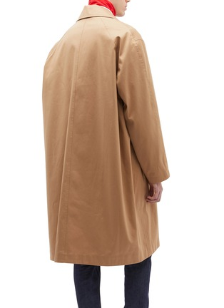 Back View - Click To Enlarge - Calvin Klein 205W39NYC - Twill coat