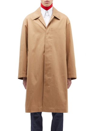 Main View - Click To Enlarge - Calvin Klein 205W39NYC - Twill coat