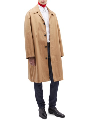 Figure View - Click To Enlarge - Calvin Klein 205W39NYC - Twill coat