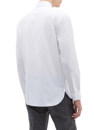 Back View - Click To Enlarge - Calvin Klein 205W39NYC - Logo embroidered shirt