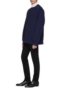 CALVIN KLEIN 205W39NYC Cutout back oversized sweatshirt