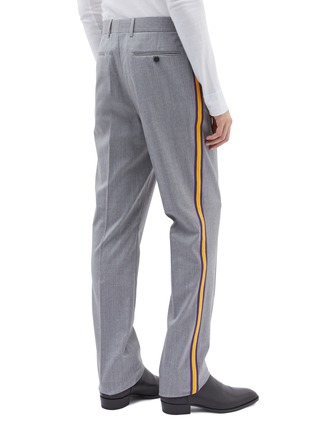 Back View - Click To Enlarge - Calvin Klein 205W39NYC - Stripe outseam wool twill pants