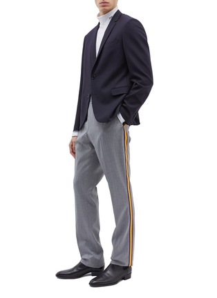 Figure View - Click To Enlarge - CALVIN KLEIN 205W39NYC - Stripe outseam wool twill pants