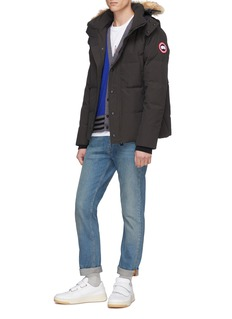Canada Goose 'Wyndham' coyote fur hooded down puffer parka – Fusion Fit