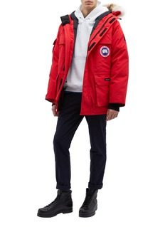 Canada Goose 'Expedition' coyote fur hooded down parka – Fusion Fit
