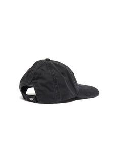 Vetements x Reebok 'Weekday' slogan embroidered distressed baseball cap – Saturday