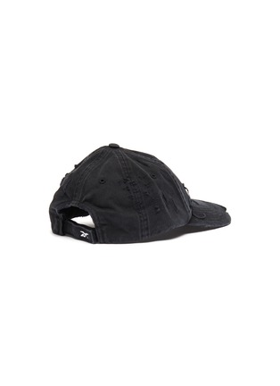 Figure View - Click To Enlarge - Vetements - x Reebok 'Weekday' slogan embroidered distressed baseball cap – Sunday
