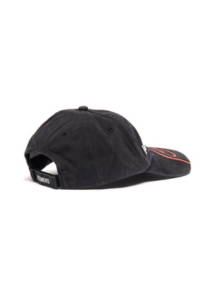 Figure View - Click To Enlarge - VETEMENTS - x Reebok 'Fire' graphic logo embroidered baseball cap
