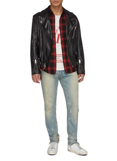 RHUDE Split cuff washed jeans