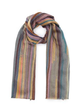 Main View - Click To Enlarge - PAUL SMITH - Paintstroke scarf