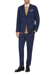 Paul Smith 'Soho' check Loro Piana Mooving® wool travel suit